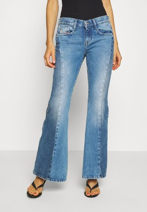 D-FERENZ-X - Flared Jeans - light blue