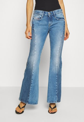 D-FERENZ-X - Flared Jeans - light blue