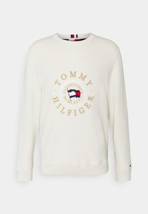 STRUCTURED GRAPHIC - Pullover - ivory
