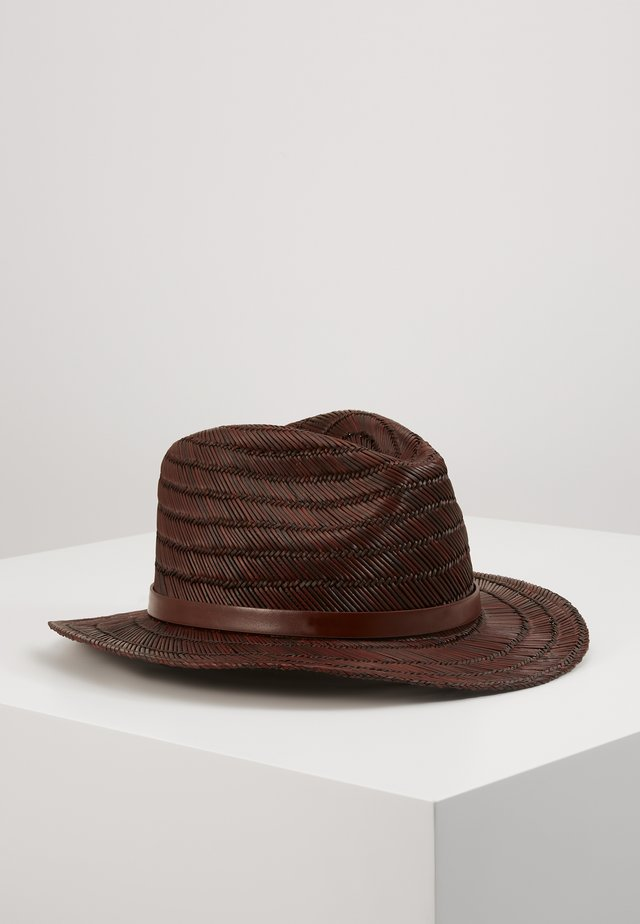 MESSER FEDORA - Cappello - brown