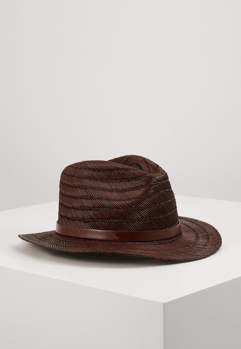 Brixton - MESSER FEDORA - Cappello - brown
