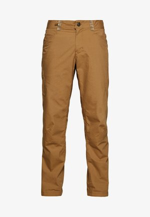 VENGA ROCK PANTS - Kangashousut - coriander brown