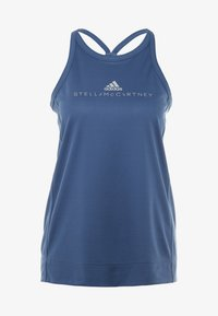 adidas by Stella McCartney - GRAPHIC TANK - Topper - visblu