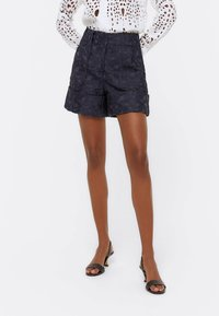 Uterqüe - Shorts - dark blue - 0