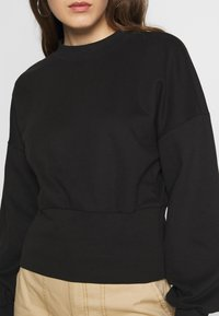 ONLY - ONLLINA  HIGHNECK  - Sweatshirt - black - 5