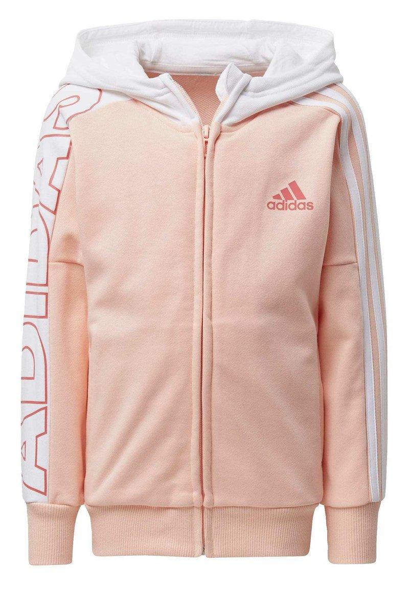adidas Performance - BRANDED KNIT JACKET - Zip-up hoodie - pink