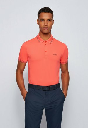 PAULE - Poloshirt - open red
