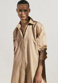 Massimo Dutti - Maxi dress - beige - 5