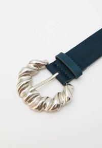 PULL&BEAR - Belt - blue - 3