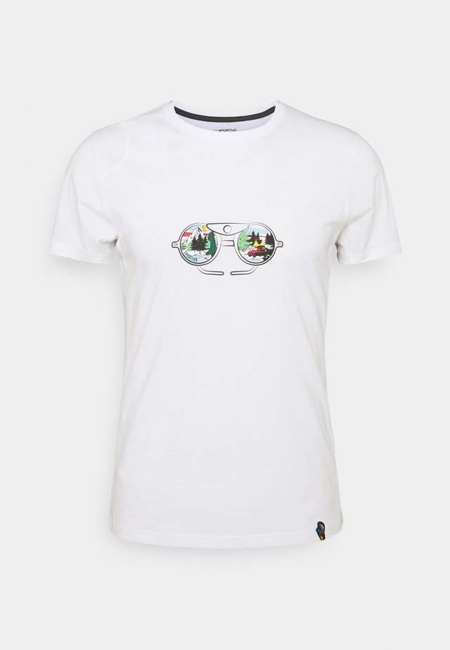 VIEW - Print T-shirt - white