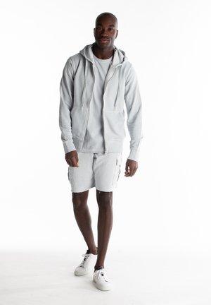 Zip-up sweatshirt - droplet grey