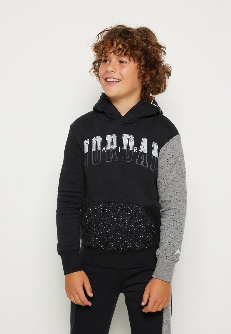Jordan - AIR SPECKLE - Hoodie - black