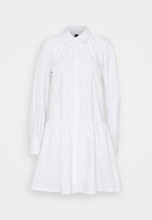 YASSCORPIO SHIRT DRESS ICON - Shirt dress - bright white