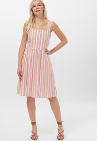 Sugarhill Brighton - QUEENIE OMBRE STRIPE - Day dress - pink - 1