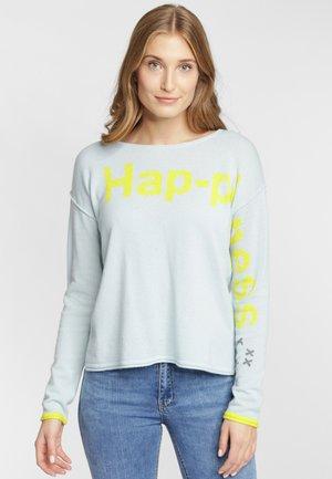 HAPPINESS - Trui - iceblue