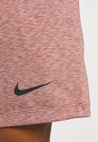 Nike Performance - DRY SHORT - Sports shorts - claystone red/heather/black - 5