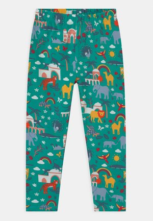LIBBY PRINTED ANIMALS - Legíny - green
