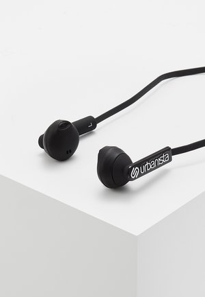 BERLIN BLUETOOTH UNISEX - Headphones - dark clown black
