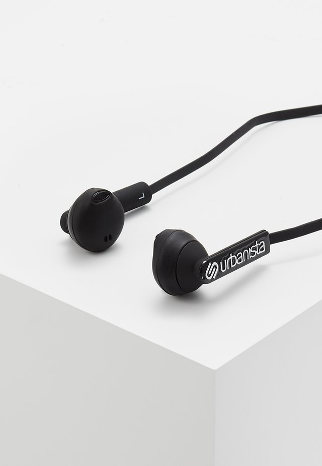 BERLIN BLUETOOTH - Sluchátka - dark clown black