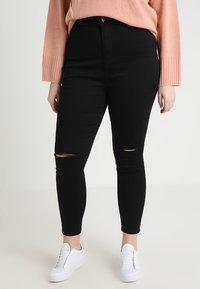 Even&Odd Curvy - Jeans Skinny Fit - schwarz - 0