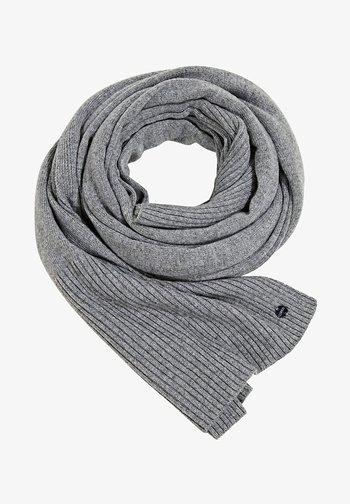 STRICK AUS RECYCELTEM GARN - Scarf - light grey