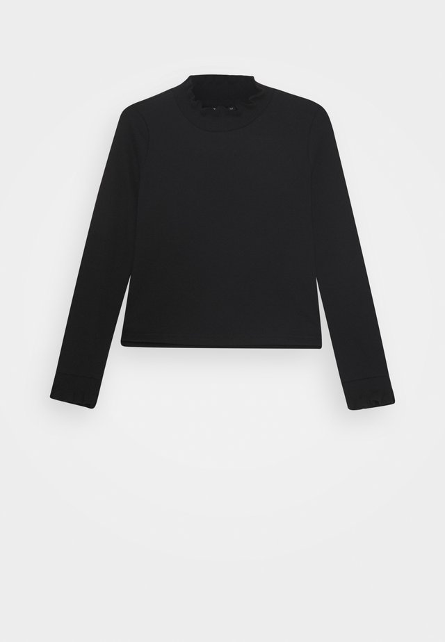 NLFNANCY  SHORT - Sweatshirt - black