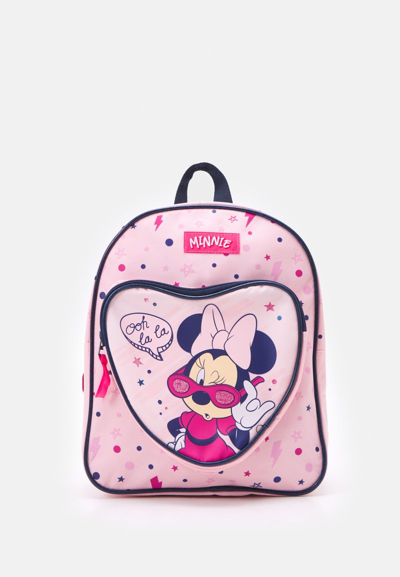 Kidzroom - BACKPACK MINNIE MOUSE COOL GIRL VIBES - Batoh - pink