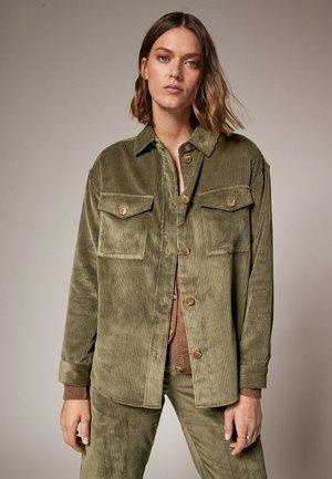 AUS CORD - Light jacket - khaki