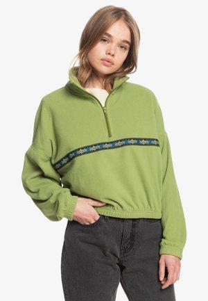 TRIBAL POLAR - Fleece jacket - calliste green