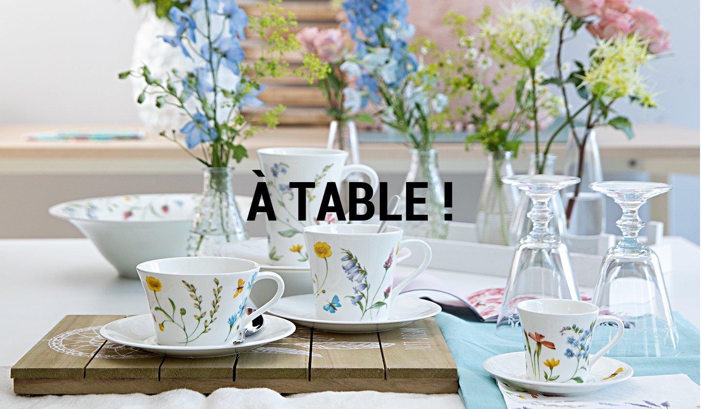 A TABLE ! à super prix sur ZALANDO PRIVÉ