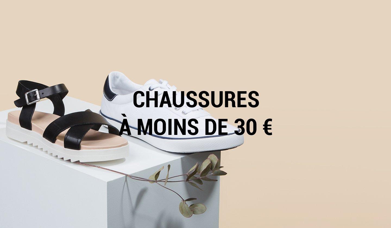 CHAUSSURES A MOINS DE 30 à prix discount sur ZALANDO PRIVÉ